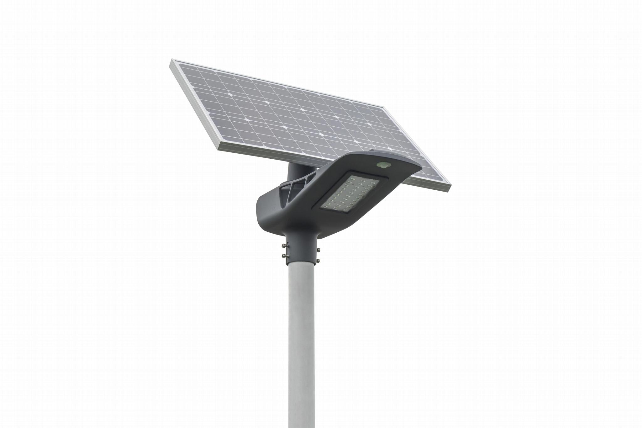 50Watt semi-integrated solar led street light, solar street lamp 2