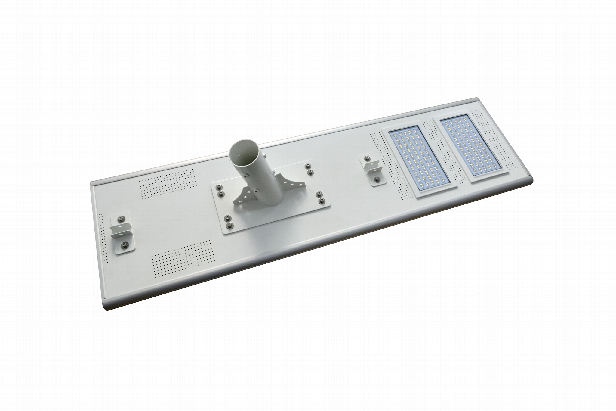 IP65 120W all in one integrated solar led street light 5