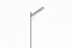 LOWCLED IP65 30Watt all in one integrated solar led street light, garden lamp