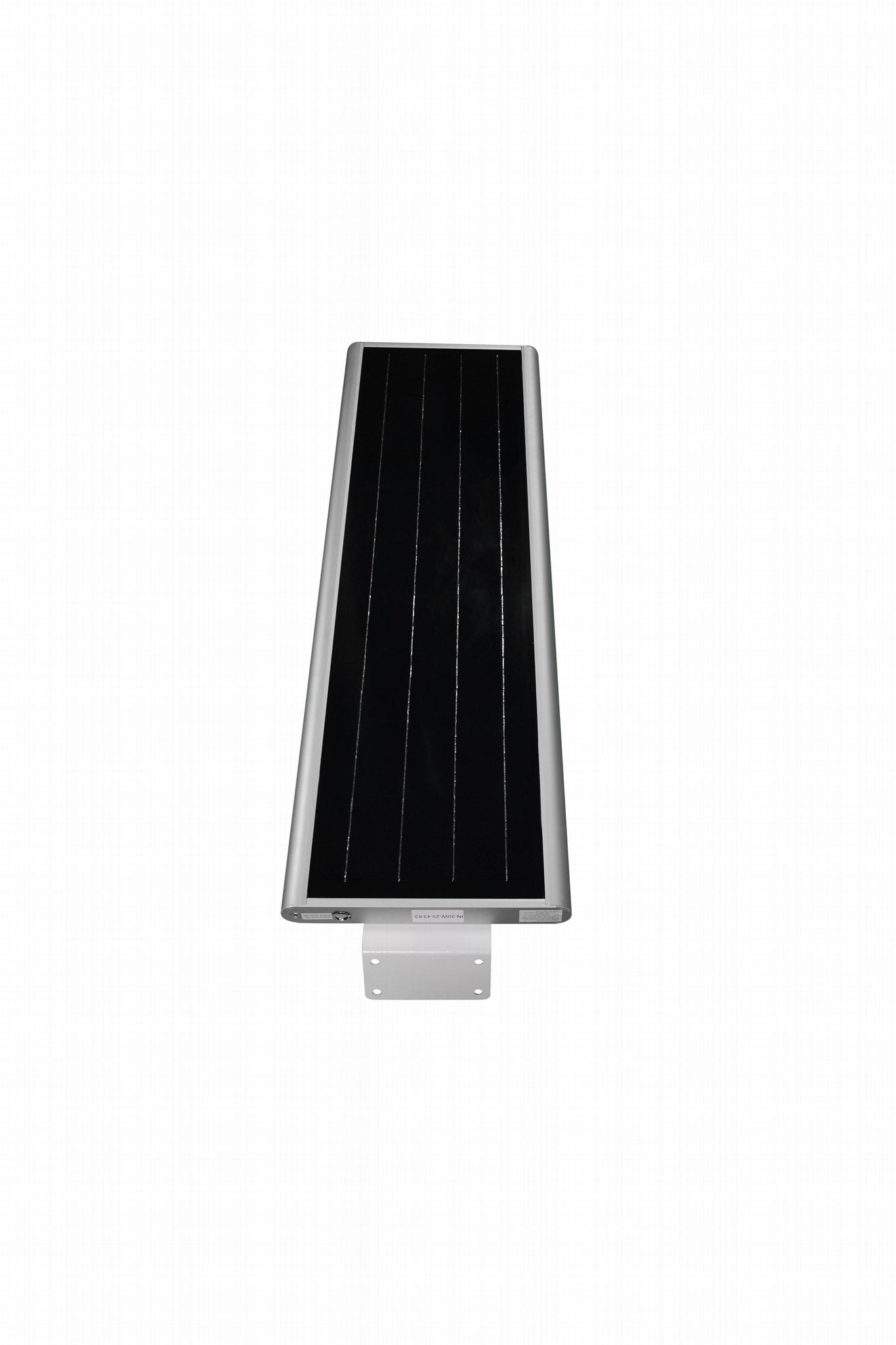 LOWCLED IP65 30Watt all in one integrated solar led street light, garden lamp 3