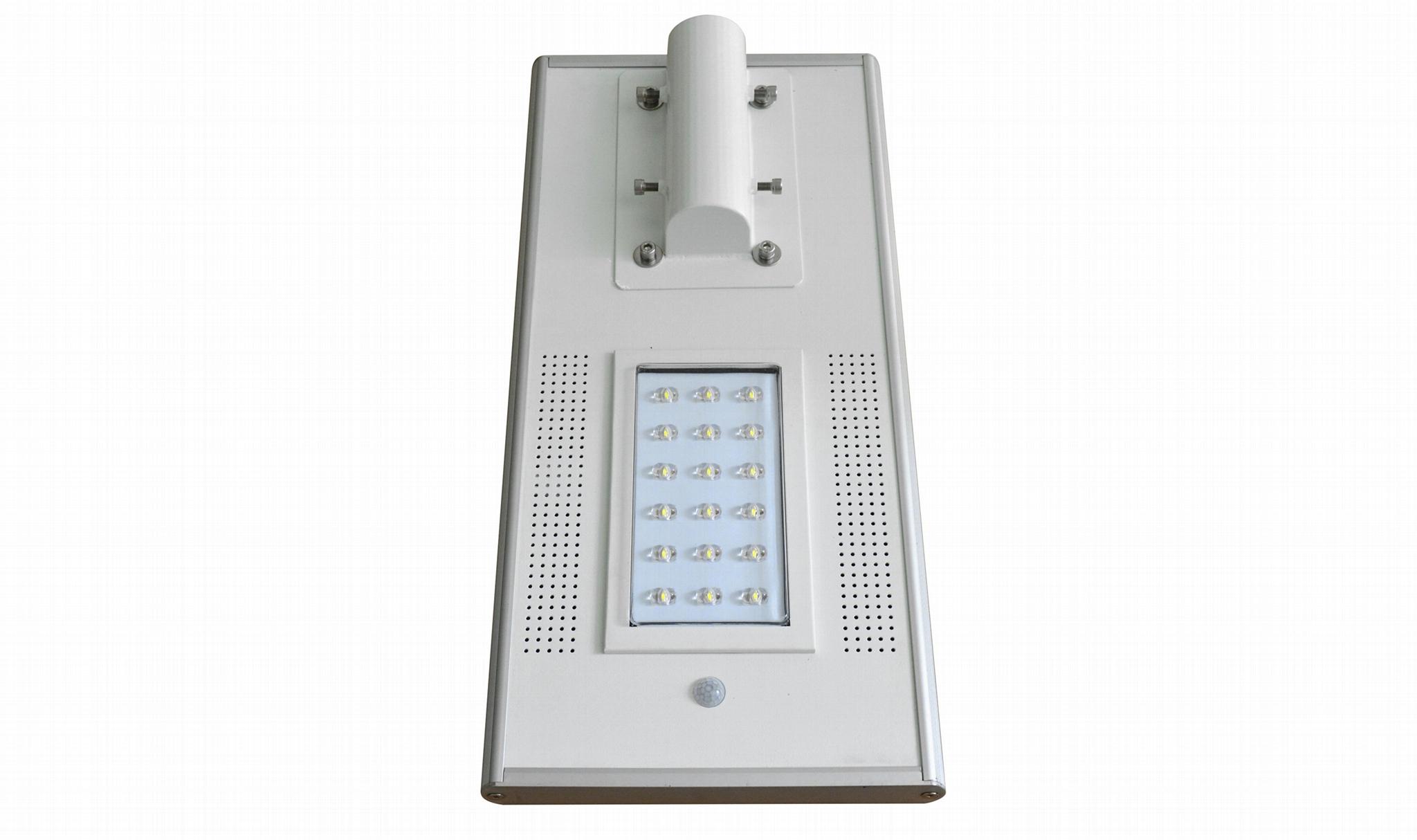 IP65 30Watt all in one integrated solar streetlights, garden lamp 4