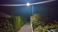 IP65 12Watt all in one integrated solar streetlights, garden lamp