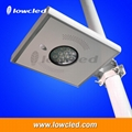 IP65 9Watt all in one integrated solar streetlights, garden lamp