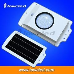 IP65 6Watt all in one integrated solar streetlights, garden lamp