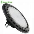 130LM/W 150W UFO IP65 LED High Bay Light