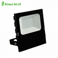 5years warranty 100-277V AC 35W luminaire 130LM/W IP65 LED Flood light CE, ROHS