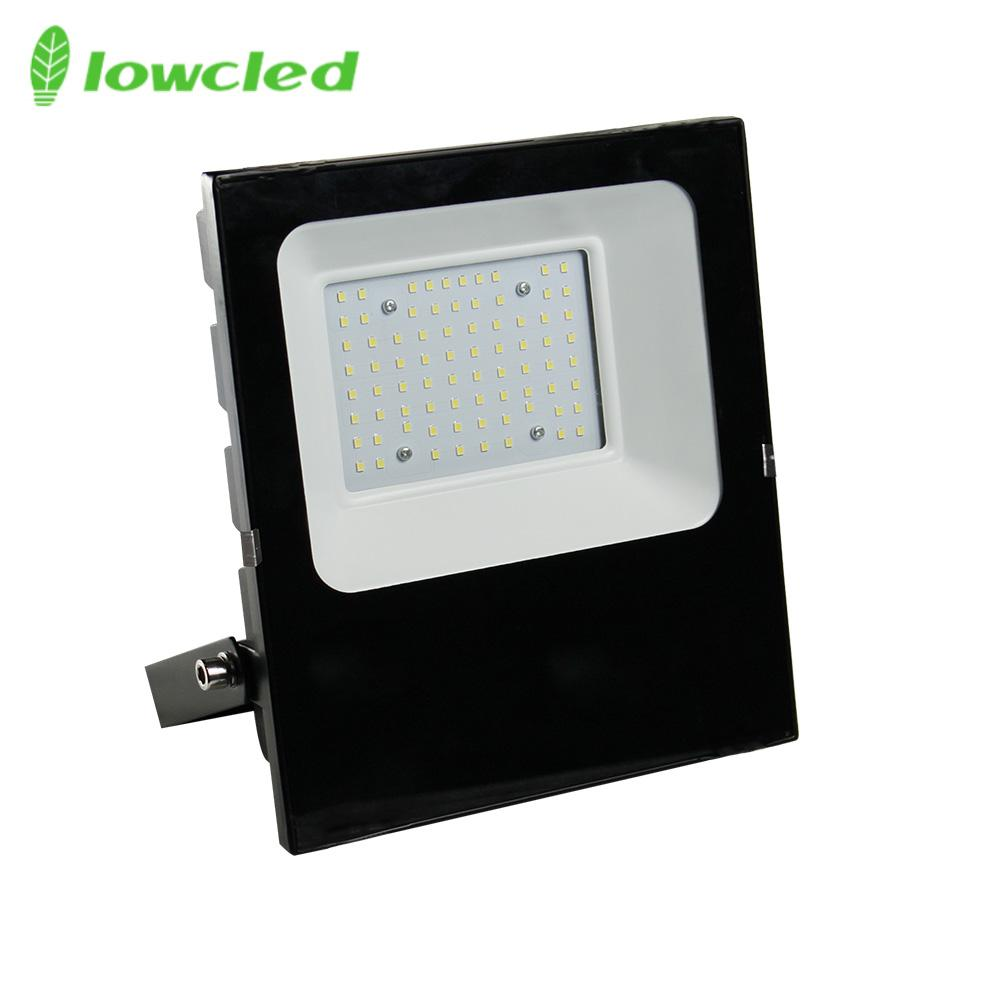 5years warranty 100-277V AC 50W luminaire 130LM/W IP65 LED Flood light CE, ROHS