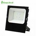5years warranty 100-277V AC 70W luminaire 130LM/W IP65 LED Flood light CE, ROHS
