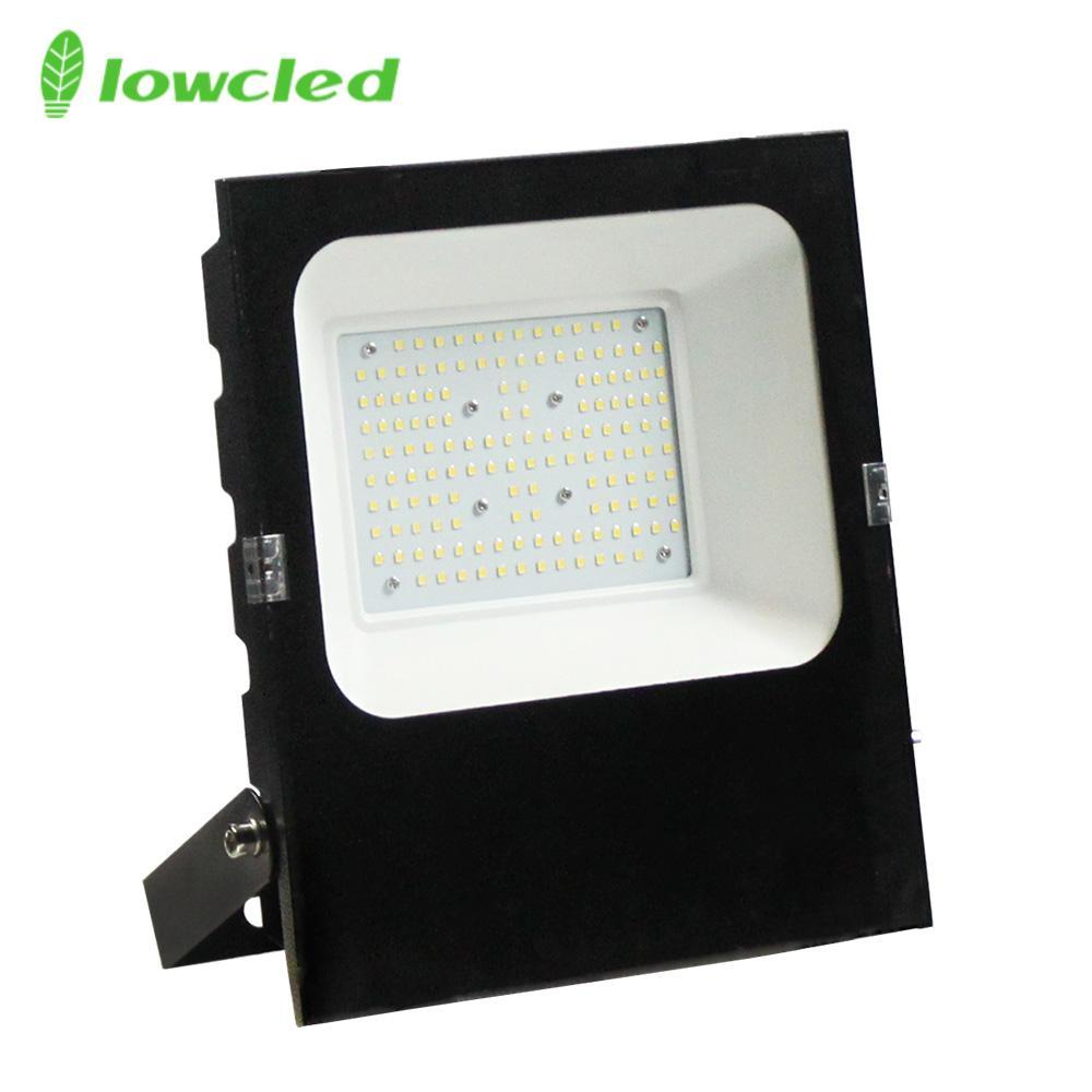 5years warranty 100-277V AC 100W luminaire 130LM/W IP65 LED Flood light CE, ROHS 1