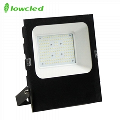 5years warranty 100-277V AC 100W luminaire 130LM/W IP65 LED Flood light CE, ROHS