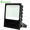 5years warranty 100-277V AC 150W luminaire 130LM/W IP65 LED Flood light CE, ROHS 3