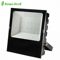 5years warranty 100-277V AC 200W luminaire 130LM/W IP65 LED Flood light CE, ROHS