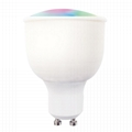 RGBW GU10 5W Smart Life App RGBW Wifi Led Bulb