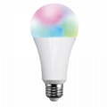 9W E27 Smart Wifi Bluetooth voice control Led Bulbs