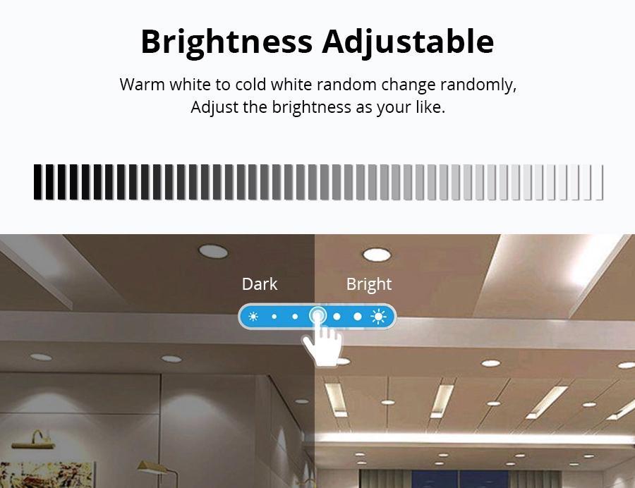 40W RGBW SMART WIFI LED PANEL LIGHT,  Works with Amazon Alexa Echo Plus & Smart  4