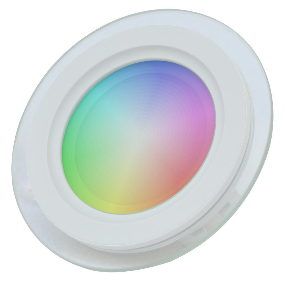 6W RGBW WIFI BLUETOOTH SMART ROUND LED PANEL LIGHT, DOWNLIGHT