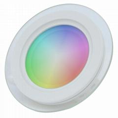 12W RGBW WIFI BLUETOOTH SMART ROUND slim LED PANEL LIGHT, DOWNLIGHT
