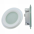 18W RGBW WIFI BLUETOOTH SMART ROUND slim LED PANEL LIGHT, DOWNLIGHT