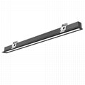 Supermarket Linear Luminaire 5years warranty 30W, 40W, 50W Recessed downlight