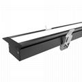 Supermarket Linear Luminaire 5years warranty 30W, 40W, 50W Recessed downlight 3
