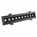 Office luminaires 5years warranty 10W, 20W, 30W Recessed led linear downlight