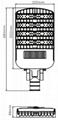 200W LED Street Light Bulb 7