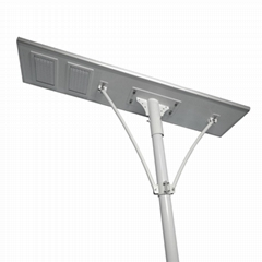 IP65 100W all in one integrated LED solar street light