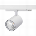20W cob led spot track light, CE ROHS high quality design LED track light