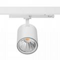 20W cob led spot track light, CE ROHS high quality design LED track light 2