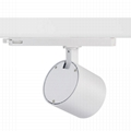 Commercial 2 3Wires 234 lines art gallery COB 30w 40w led track lighting 20w 25w 3