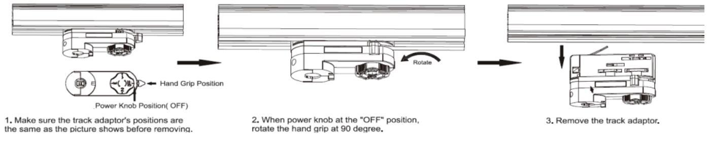 Cri 97 cob led track light commercial shop ceiling 3 circuit cob track light led 10