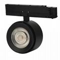 Cri 97 cob led track light commercial shop ceiling 3 circuit cob track light led