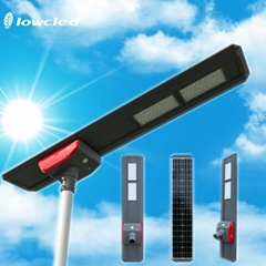 IP65 integrated all in one solar led street light 80watt