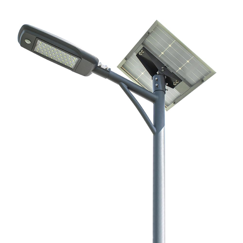 3years warranty IP65 semi-integrated solar led street light street lamp 60W 2