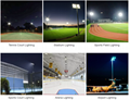 500W 120LM/W IP65 IP66 LED Floodlight stadium light Sports lighting
