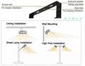 1000W 120LM/W IP65 IP66 LED Floodlight stadium light Sports lighting 8