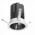 COB round 5W modular led downlight