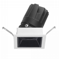 COB Square 8W modular led downlight