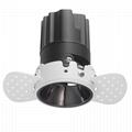 COB round 8W trimless modular led downlight