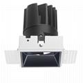 COB Square 12W trimless modular led