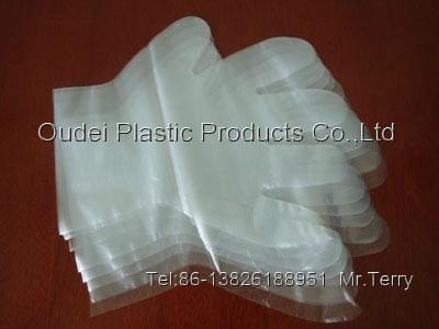 Disposable PE Gloves 2