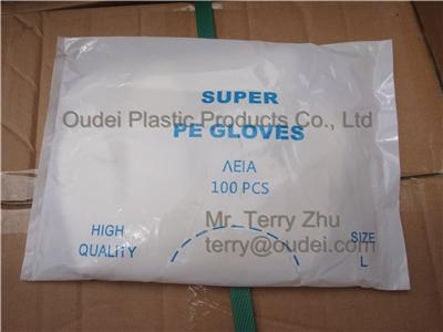 Disposable PE Gloves 3