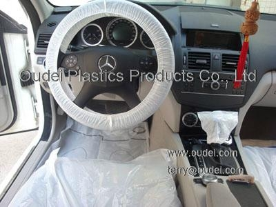 Disposable PE Steering Wheel Cover  1