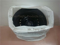 Disposalbe PE Tyre Bag
