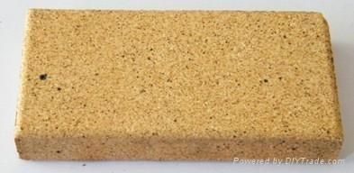 黃色米黃色陶土燒結磚廣場磚 1