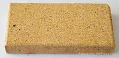 黃色米黃色陶土燒結磚廣場磚