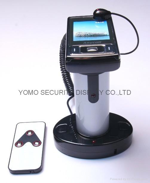 圆柱形手机防盗器 手机充电防盗器 报警防盗器 1