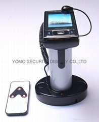 圆柱形手机防盗器 手机充电防盗器 报警防盗器