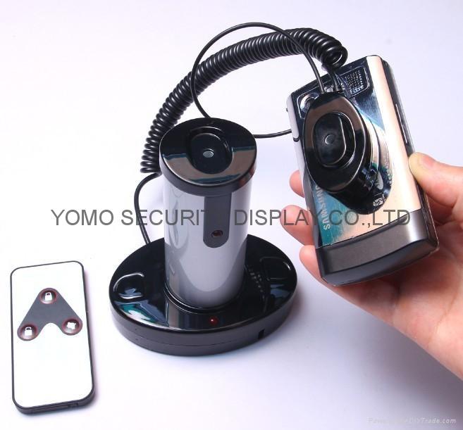 圓柱形手機防盜器 手機充電防盜器 報警防盜器 2