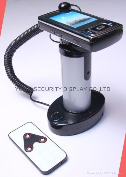 圓柱形手機防盜器 手機充電防盜器 報警防盜器 3